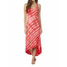 Roxy Setting Sun Dress - Sleeveless (For Women) in Sugar Coral - Closeouts