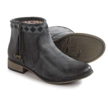Roxy Sita Ankle Boots - Vegan Leather (For Women) in Black - Closeouts