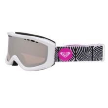 Roxy Sunset Snowsport Goggles (For Women) in Bright White - Closeouts