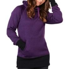 Roxy Switch It Up Fleece Hoodie (For Women) in Blackberry - Closeouts