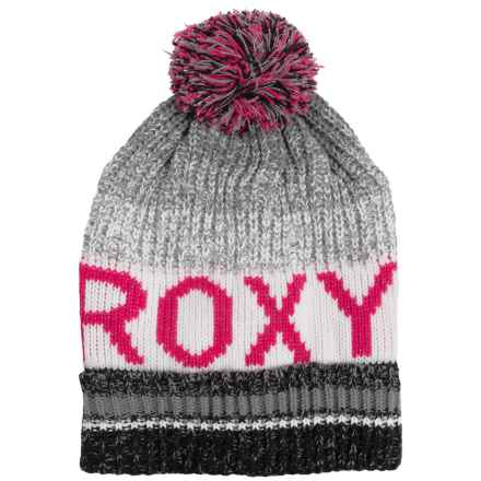 Roxy Tonic Beanie (For Women) in Anthracite - Closeouts