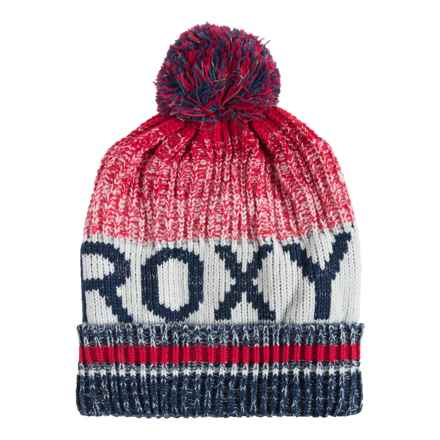 Roxy Tonic Beanie (For Women) in Azalea - Closeouts