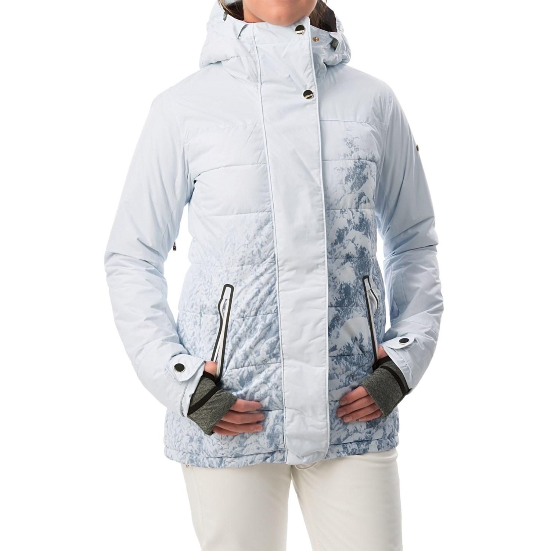 Roxy Torah Bright Crystalized Printed Snowboard Jacket