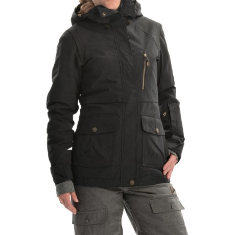 Roxy Tribe Snowboard Jacket Waterproof, Insulated (For Women)