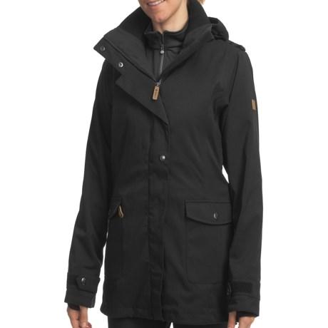Roxy Unity 10K Shell Jacket (For Women) in True Black