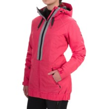 Roxy Valley Snowboard Jacket - Waterproof, Insulated (For Women) in Azalea - Closeouts
