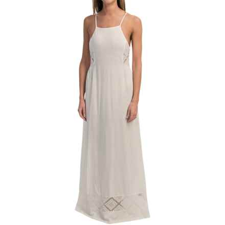 Roxy West End Maxi Dress - Spaghetti Strap (For Women) in Egret - Closeouts