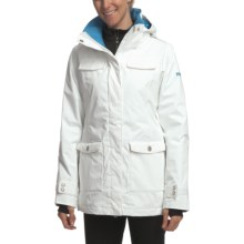 Roxy Wild Jacket - Insulated (For Women) in White - Closeouts