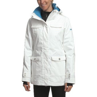 Roxy Wild Jacket - Insulated (For Women) in White