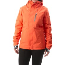 Roxy Wilder 2L Gore-Tex® Snowboard Jacket - Waterproof, Insulated (For Women) in Nasturtium - Closeouts