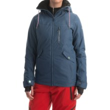 Roxy Wildlife Snowboard Jacket - Waterproof, Insulated (For Women) in Ensign Blue - Closeouts