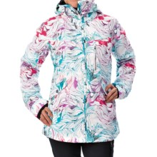 Roxy Wildlife Snowboard Jacket - Waterproof, Insulated (For Women) in Snowtwist - Closeouts