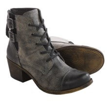 Roxy Yuma Ankle Boots - Vegan Leather (For Women) in Black - Closeouts