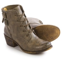 Roxy Yuma Ankle Boots - Vegan Leather (For Women) in Olive - Closeouts