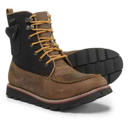 Royal Canadian Harbour Boots - Waterproof (For Men) in Brown/Black - Closeouts