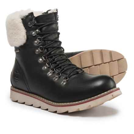 Royal Canadian Lethbridge Boots - Waterproof, Insulated (For Men) in Black - Closeouts