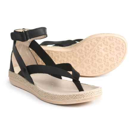 Royal Canadian Peace River Espadrilles - Leather (For Women) in Black - Closeouts