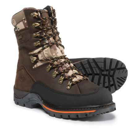 Royal Canadian Vernon Leather Winter Boots - Waterproof, Insulated (For Men) in Brown/Orange - Closeouts
