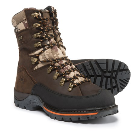 Royal Canadian Vernon Leather Winter Boots - Waterproof, Insulated (For Men) in Brown/Orange