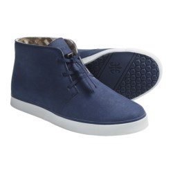 Royal Elastics Brother Basil Shoes - Suede (For Men) in Vegan Ink