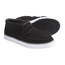 Royal Elastics Deckhand Shoes - Slip-Ons (For Men) in Black/White - Closeouts