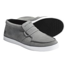 Royal Elastics Deckhand Shoes - Slip-Ons (For Men) in Grey/White - Closeouts