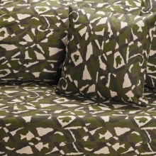 Royal Heritage Camo Futon Cover - Cotton Denim in Green Camo - Closeouts