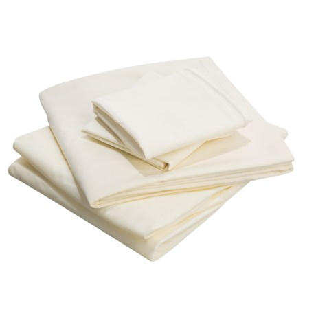Royal Heritage Home Anti-Bedbug Sheet Set - King in Ivory