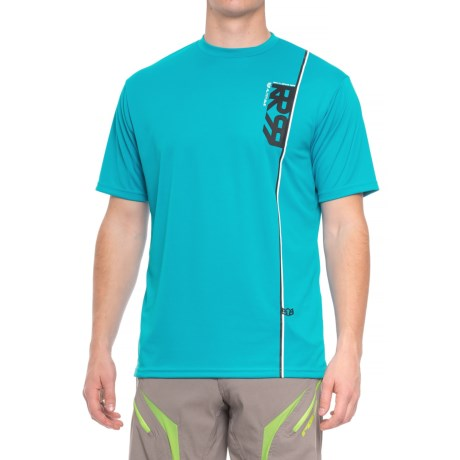 Royal Racing Altitude Mountain Bike Jersey - Short Sleeve (For Men) in Electric Blue/Black/White