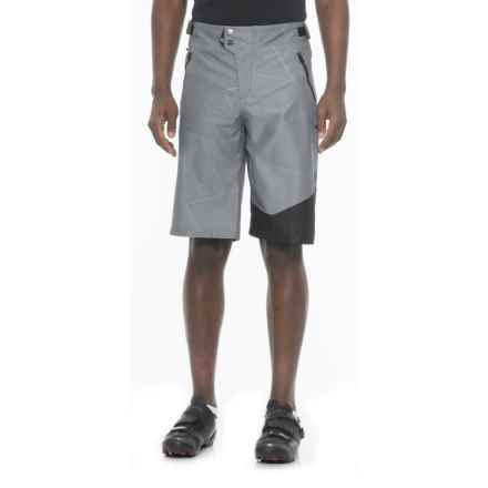 Royal Racing Matrix Mountain Bike Shorts - Removable Chamois (For Men) in Ash Grey/Black - Closeouts