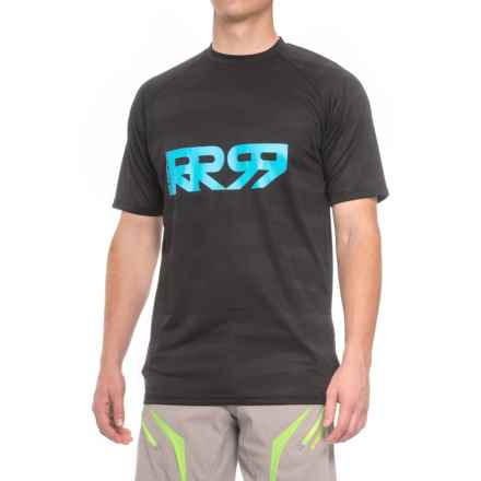 Royal Racing Racing Impact Mountain Bike Jersey - Short Sleeve (For Men) in Black/Electric Blue - Closeouts