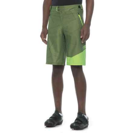Royal Racing Racing Matrix Mountain Bike Shorts - Removable Chamois (For Men) in Olive/Grass - Closeouts