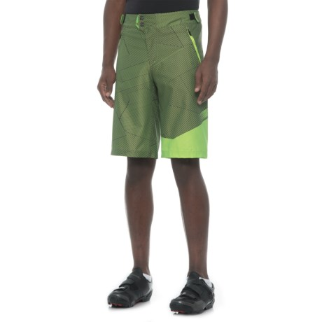 Royal Racing Racing Matrix Mountain Bike Shorts - Removable Chamois (For Men) in Olive/Grass