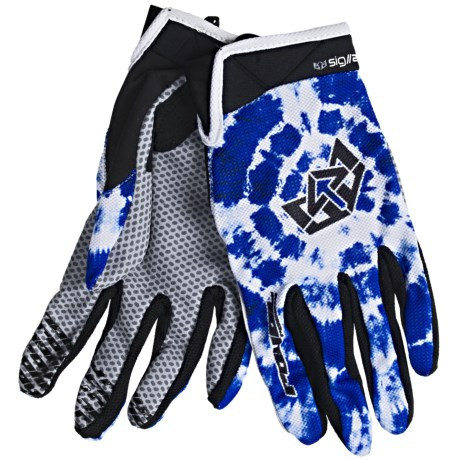 Royal Racing Signature Mountain Bike Gloves (For Men and Women) in Danube Blue