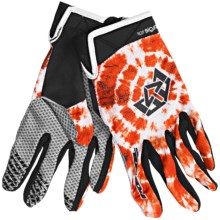 Royal Racing Signature Mountain Bike Gloves (For Men and Women) in Molten Lava Red - Closeouts