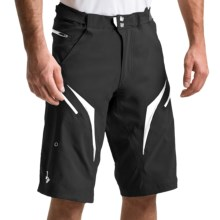 Royal Racing Stage Bike Shorts - Removable Liner (For Men) in Black/White - Closeouts