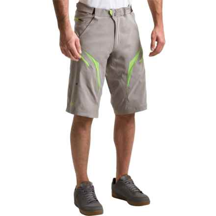 Royal Racing Stage Bike Shorts - Removable Liner (For Men) in Graphite/Lime - Closeouts