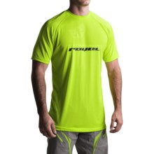 Royal Racing Turbulence Cycling Jersey - Short Sleeve (For Men) in Lime/Black - Closeouts
