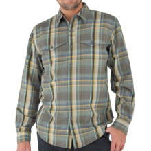 Royal Robbins Acoustic Flannel Plaid Shirt - UPF 50+, Long Sleeve (For Men) in Tundra - Closeouts