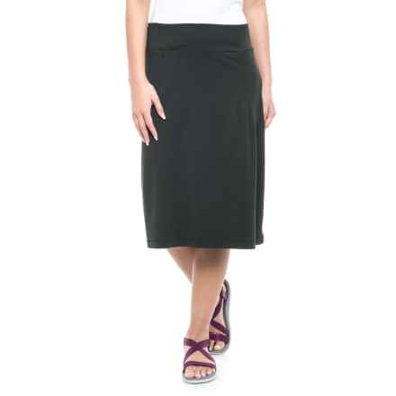 Royal Robbins Active Essential Skirt - UPF 50+ (For Women) in Jet Black - Closeouts