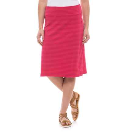 Royal Robbins Active Essential Striped Skirt - UPF 50+ (For Women) in Punch - Closeouts