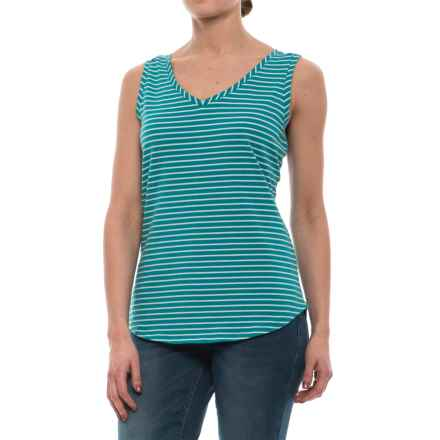 Royal Robbins Active Essential Tank Top - UPF 50+ (For Women) in Reservoir - Closeouts