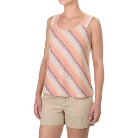 Royal Robbins Adrift Stripe Tank Top - Hemp-Organic Cotton (For Women) in Black Cherry - Closeouts