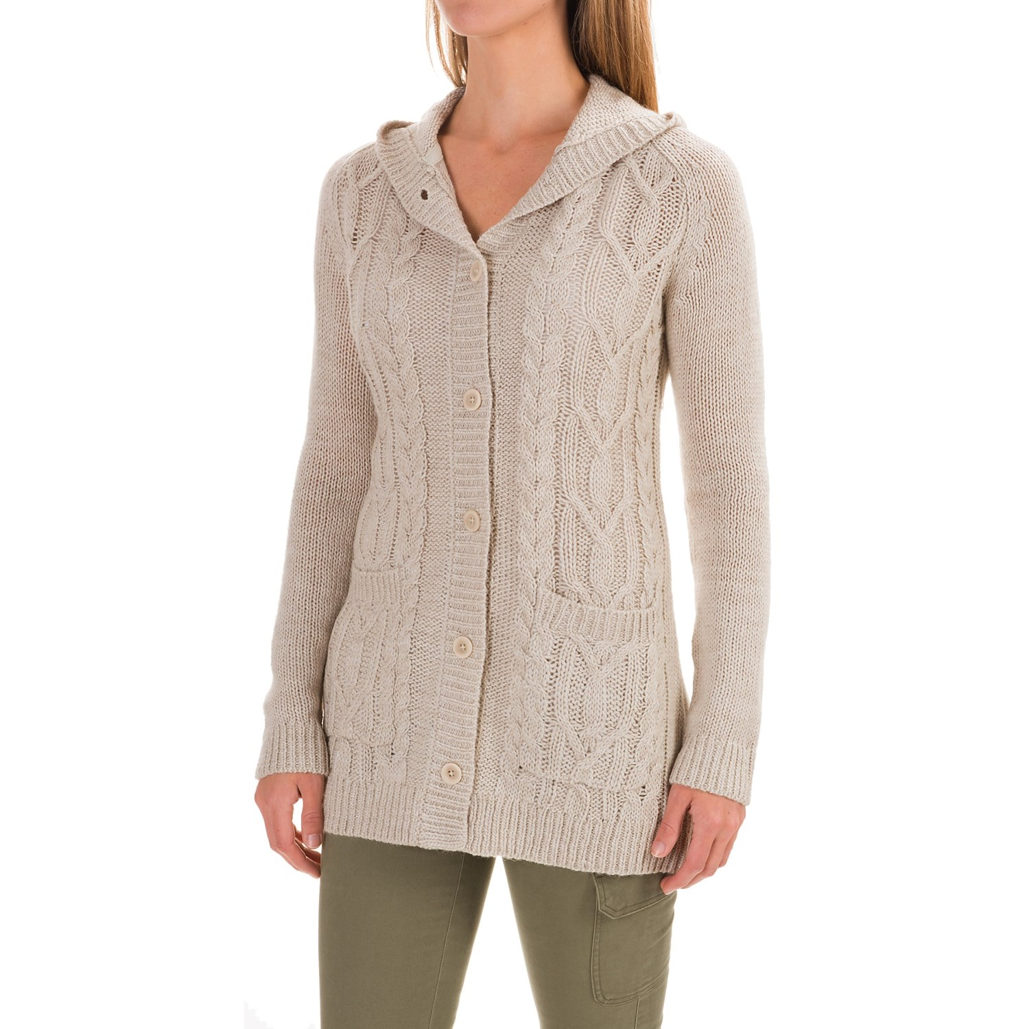 Royal Robbins Ahwahnee Hooded Cardigan Sweater (For Women) - Save 48%