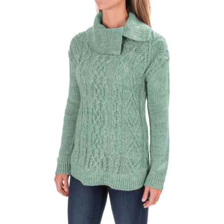 Royal Robbins Ahwahnee Turtleneck Sweater - Wool Blend (For Women) in Silverpine - Closeouts