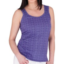 Royal Robbins Aliki Tank Top - Organic Cotton (For Women) in Mulberry - Closeouts