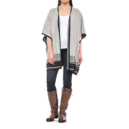 Royal Robbins All-Season Merino Wrap Sweater - Merino Wool (For Women) in Charcoal - Closeouts