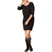 Royal Robbins Alpine Velvet Dress - UPF 50+, 3/4 Sleeve (For Women) in Jet Black - Closeouts
