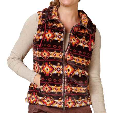 Royal Robbins Arrowhead Fleece Vest - UPF 50+ (For Women) in Blackberry - Closeouts