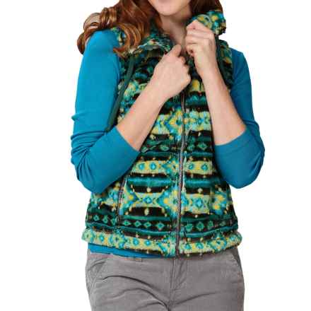 Royal Robbins Arrowhead Fleece Vest - UPF 50+ (For Women) in Dark Blizzard - Closeouts